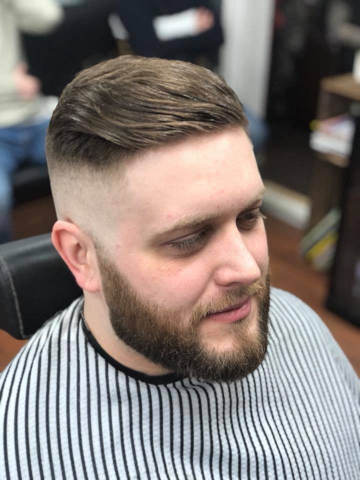 Skin fade & beard trim for Joe
