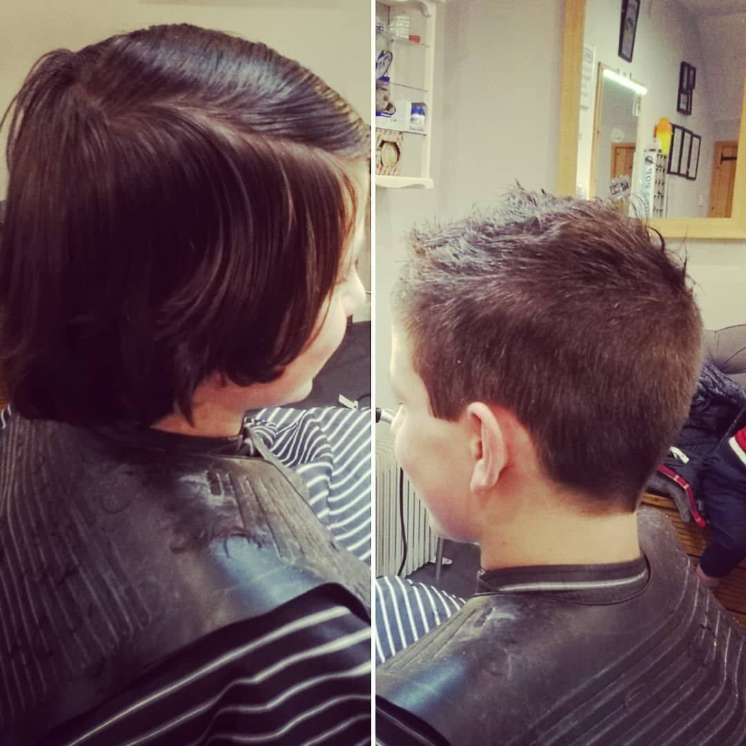 Restyle. One of Saturdays big changes. #barbershop #barber #dreamjob