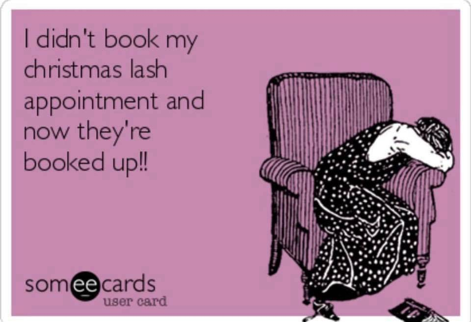 Don't leave those lash and nail appointments too late! Book your appointments ready for Christmas  www.beauty-lashious.co.uk