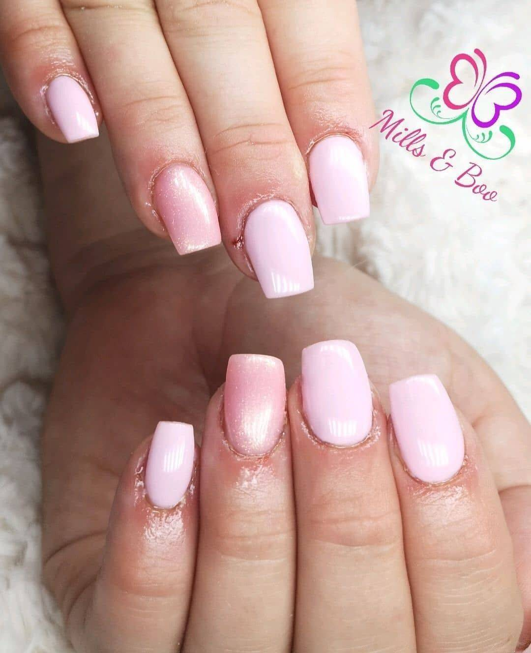 Halo French Pink & Pink Shimmer