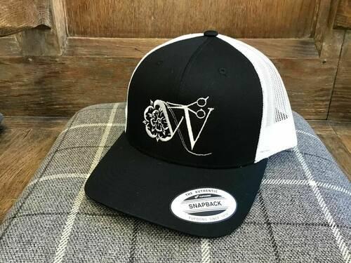Westwood's Trucker Hat (Black/White)