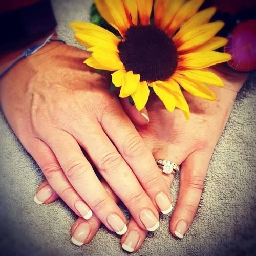 French Look, Gel Manicure: The Beauty Box, Duston, Northampton