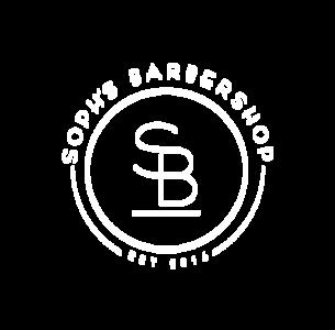 Logo 2.sophs barbershop logo inverted