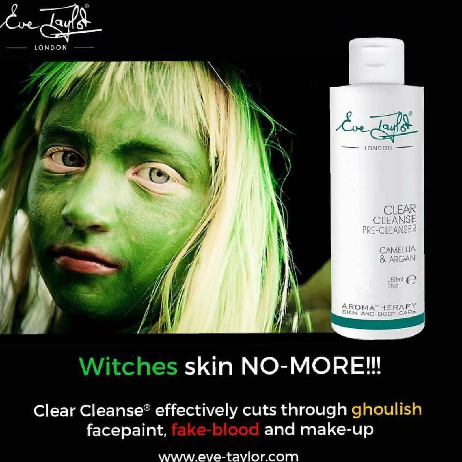 Perfect for removing stage and Haloween makeup from delicate skin!