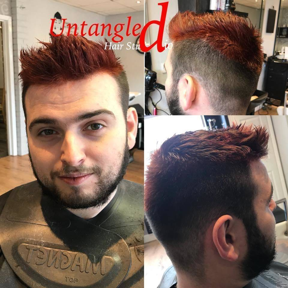 Untangled Hair Studio New Cut And Colour Done Today By Emma He