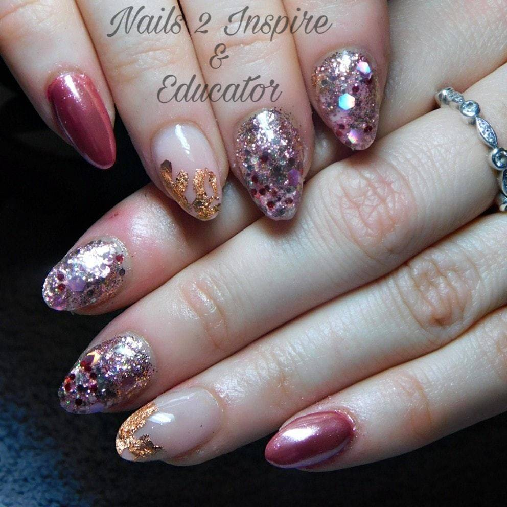 Nails 2 Inspire & educator - Gorgeous acrylic infills over natural ...