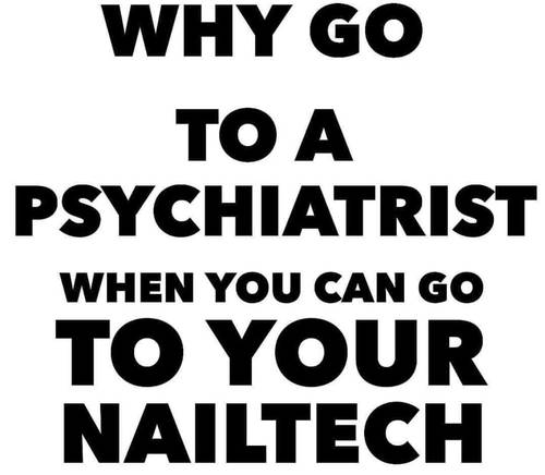 Nail tech life! 🤗