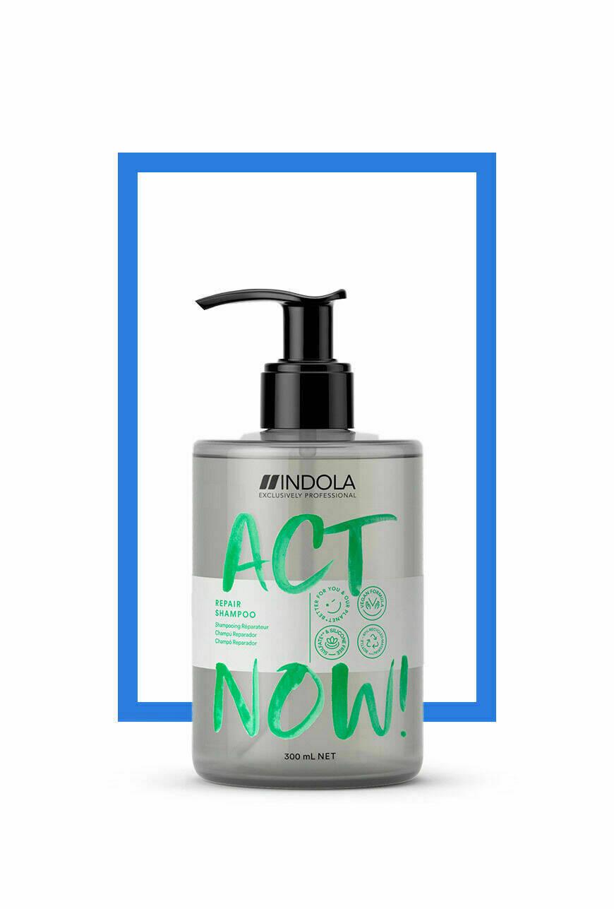 Shampoo - Indola Act Now! 300ml