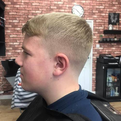 @ethaneckworth with the fresh trim on Saturday. Thanks for stopping by dude
