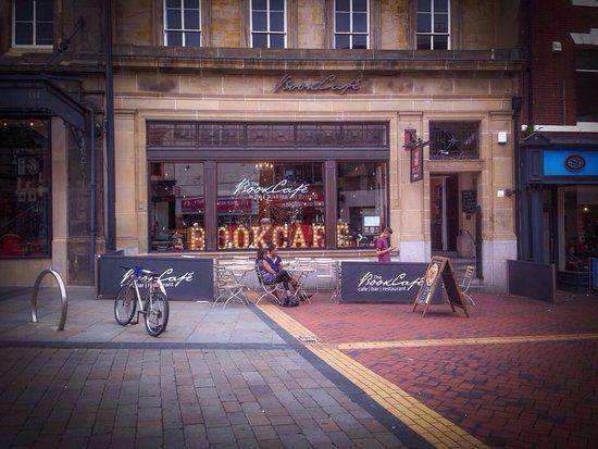 21 Cornmarket - The Bookcafe (We are located in the main entrance (on the left of this photo)