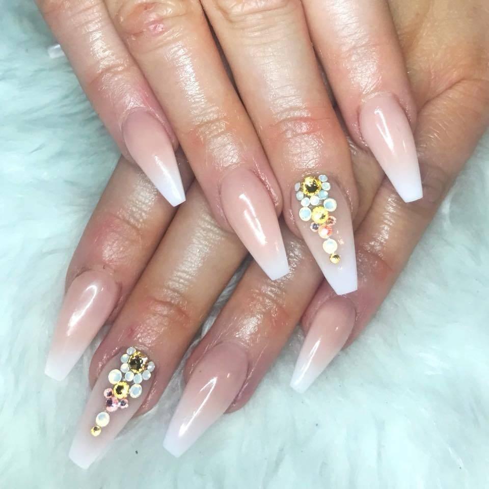 Rebecca Charleston - Well Gel Nails Edinburgh - French fade and ...