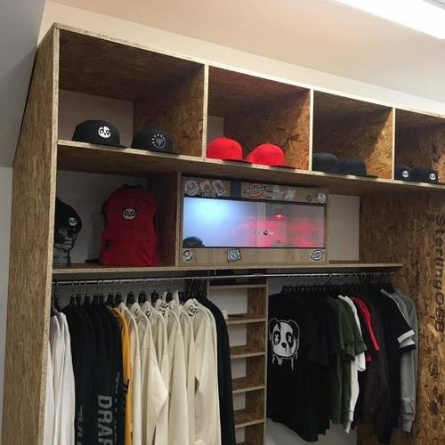 New Clothing Section added today in the Barbers  @ghostbarbershop • @drareclothing