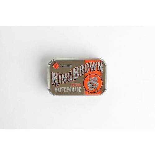 King Brown Dry Hold Matte Pomade 75g