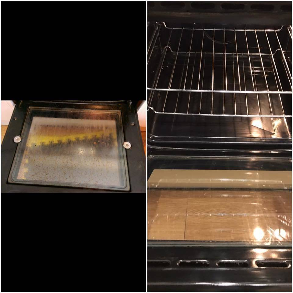 Oven from this....to this!