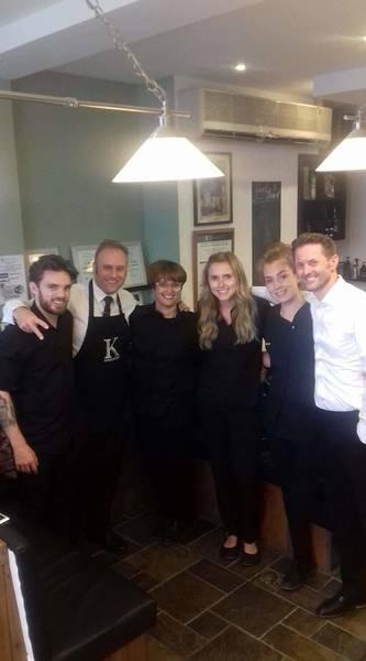 Team shot at K Barbers in Essex