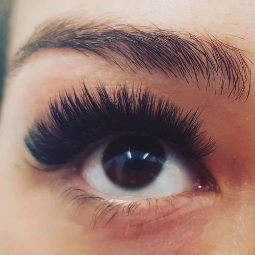 Russian lashes by me!