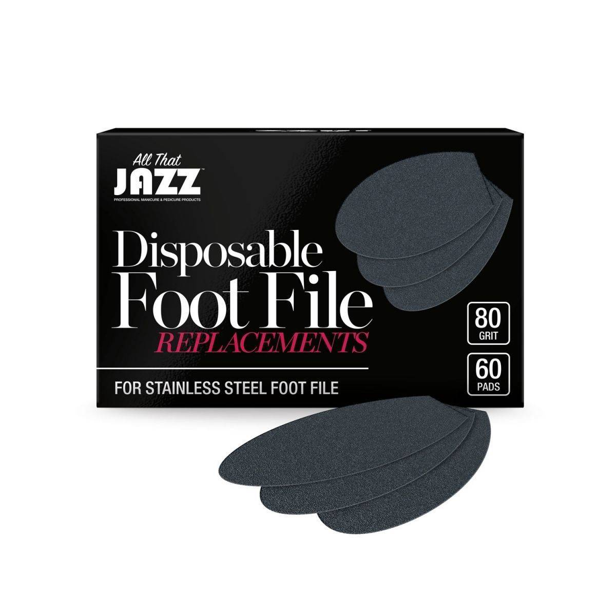 All That Jazz: Stainless Steel Foot File replacements 60/80