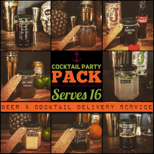 Party pack of 8 (serves 16)