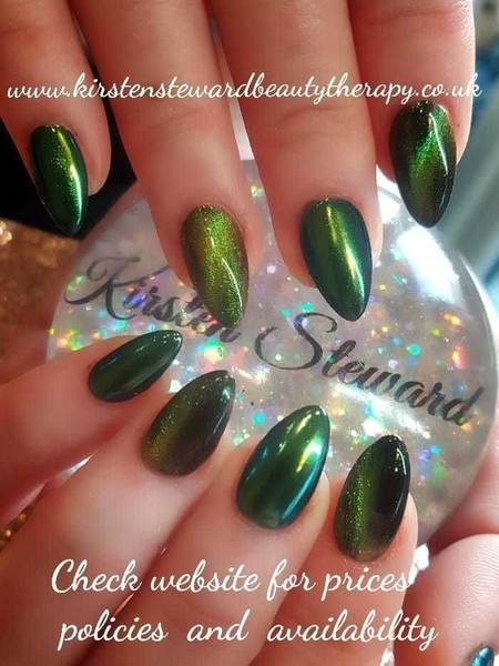 Love these; a fab mix of cats eye and chameleon pigments, just stunning!