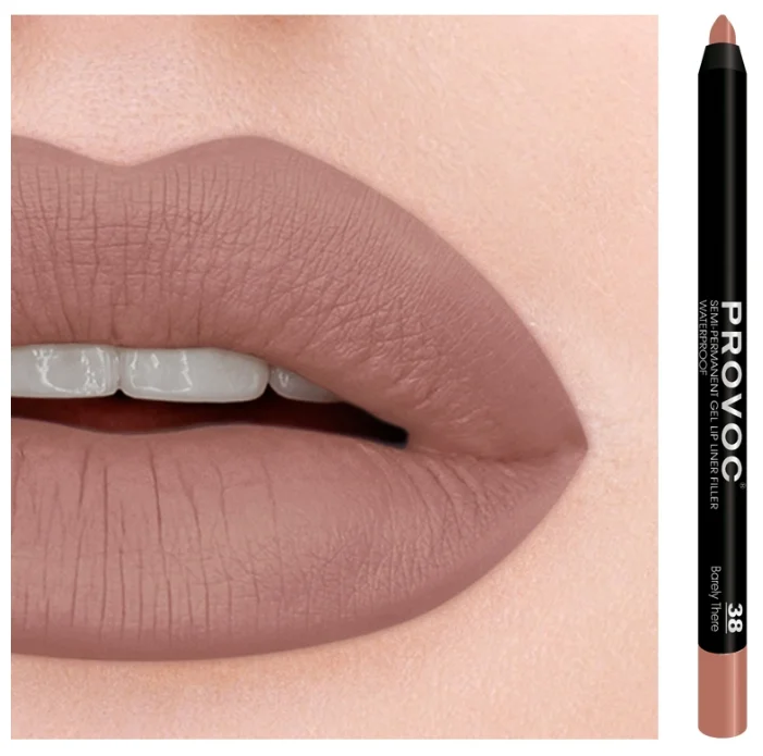 PROVOC Gel Lip Liner 38 Barely There