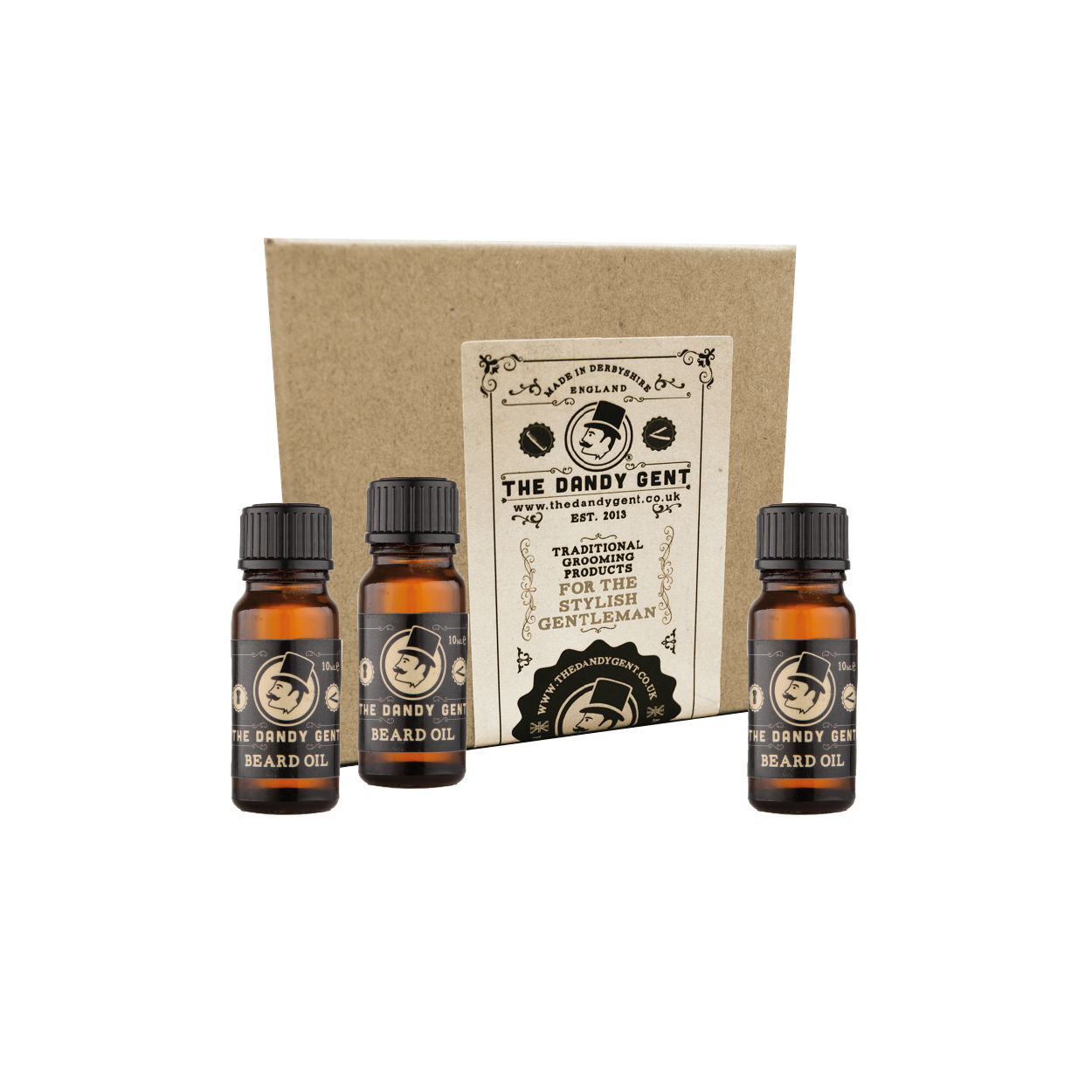 Beard Oil 'Treble 10' Gift Carton