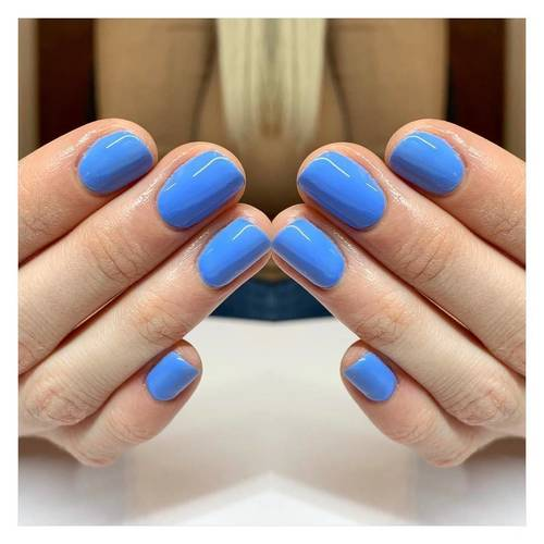 Blue is the colour for April  Gorgeous 'Michelle' by the @the_gelbottle_inc  #thegelbottleinc #tgbmichelle #gelpolish #glow #beauty #felixstowe #suffolk #beautsalon #showscratch