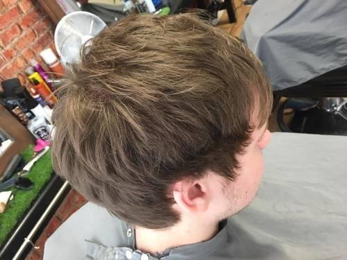 Not everyone wants a fade ✂️ all scissor cut !
