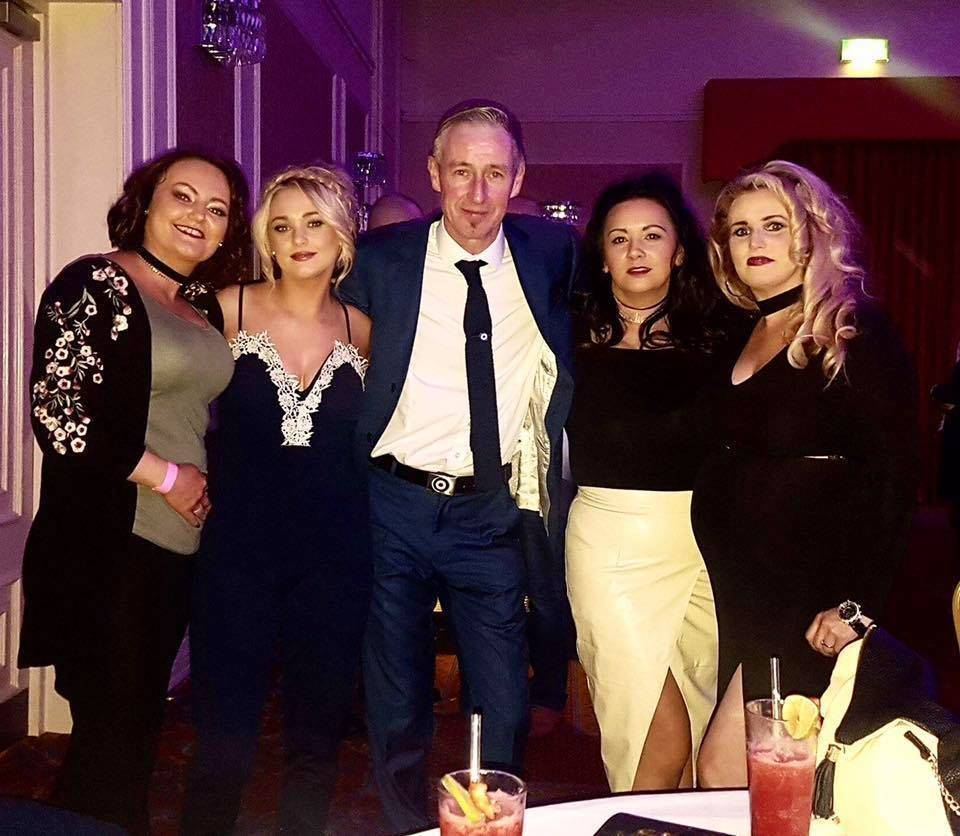 Some of the team at the In Memory of Celine and Eva❤️I organised for Marie Curie on Saturday night.