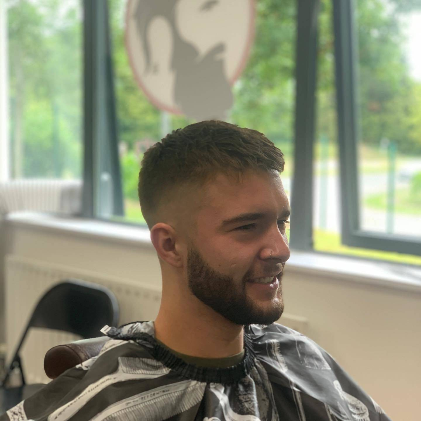Changing it up today #lovinthechange #ruffcutzbarbers #mk#mkbarber#linfordwoodeast