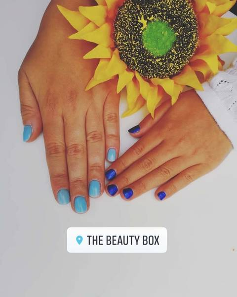 Mum & Daughter Gel Manicure and mini me manicure: The Beauty Box, Duston, Northampton,