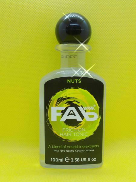 Fab Hair Tonic 'Nuts'100ml