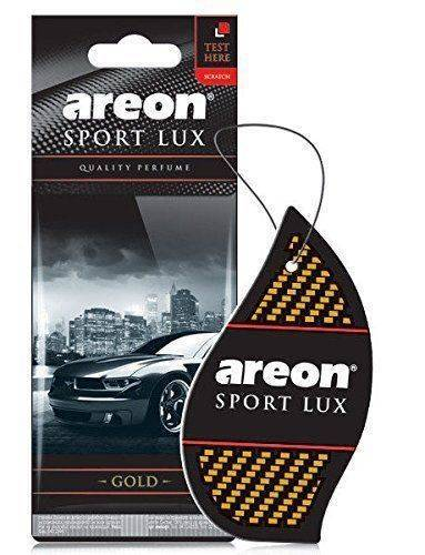 Areon Sport Lux Air Freshener - GOLD