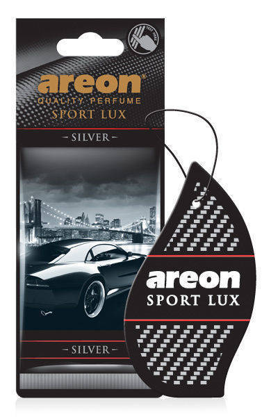 Areon Sport Lux Air Freshener - SILVER