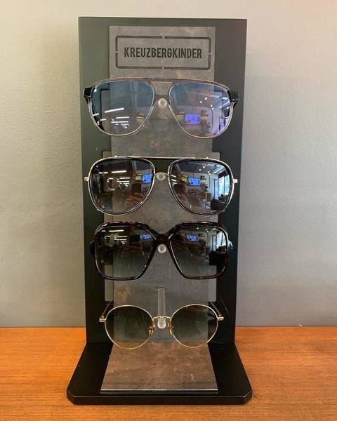 Selection of the first delivery of @kreuzbergkinder sunglasses.  We will be stocking Gents/Ladies/Unisex , don't miss out
