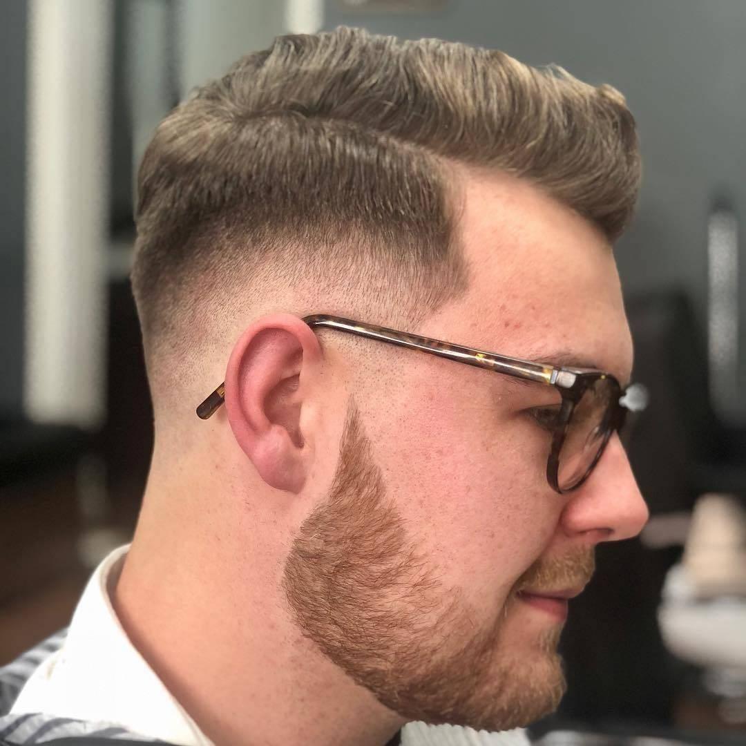 @nathanpage92 finally gets his haircut #menshair #mensfashion #pompadour #naturalfinish #zerofade #doncaster #barbershop #doncasterisgreat