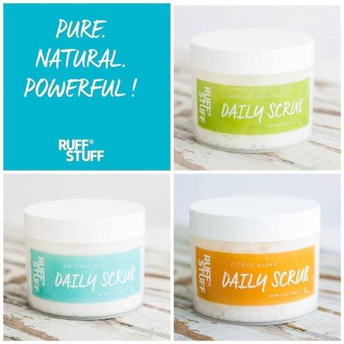 Ruff Stuff Daily Body Scrub