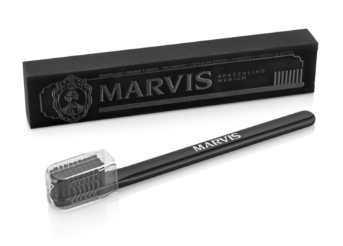 Marvis Medium Black Toothbrush