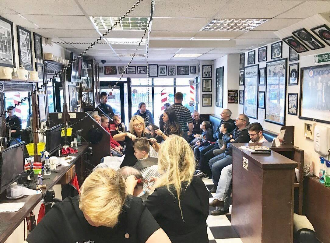 We always have enough on to cope even on the busiest of days, but if you ain't fussed on waiting you can book as usual and now even handier with the website/App www.37thebarber.co.uk ✂