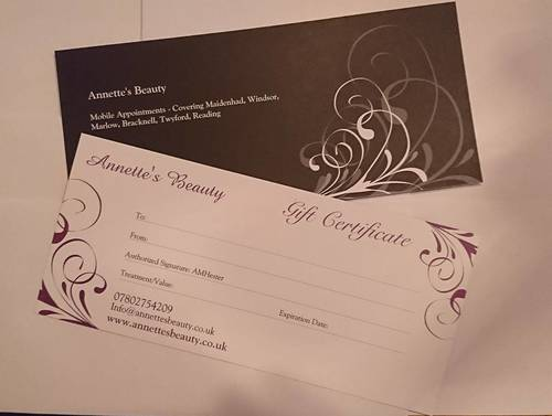 **Gift Vouchers Available** Perfect gift for a bit of post Christmas pampering