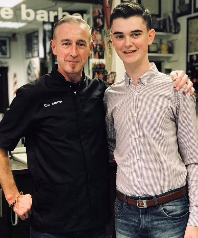 Ronan O'Reilly got a surprise free Haircut today!;) He was the first person to use the Website/App to book in for a cut just over a year ago! ✂️www.37thebarber.co.uk #anniversary