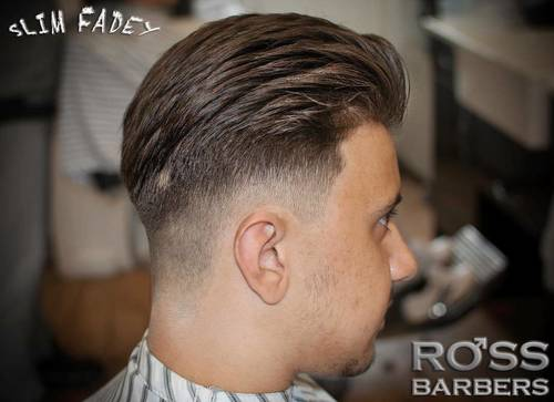 Hair by dan @ross_barbers #slimfadey #southendonseabarbershop #essexbarbershop #fade #wahl #slickhair