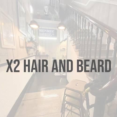 x2 HAIR AND BEARD