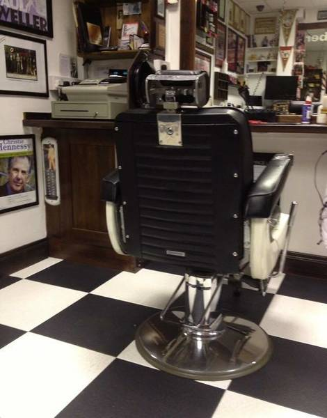 Proper barber chairs;)