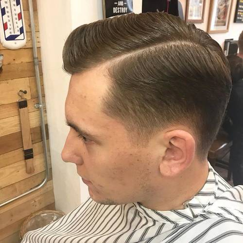 Executive contour with hard part finished with a touch of #LayriteCement by Andy
