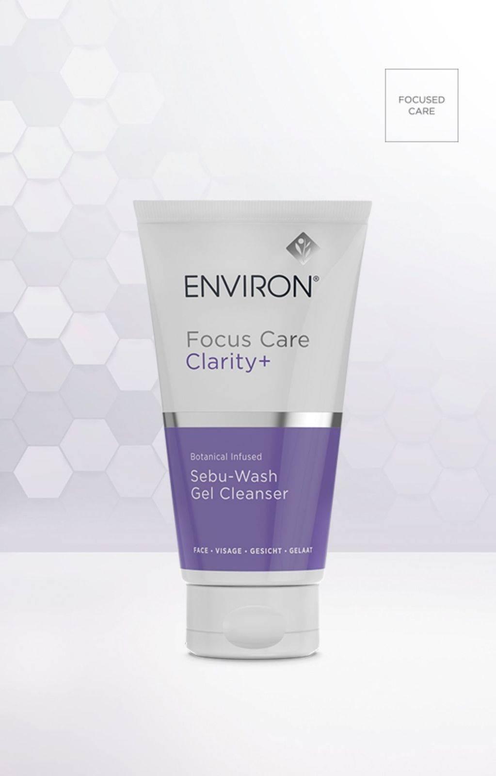 Focus Care Clarity+ Bontanical Infused Sebu-Wash Gel Cleanser