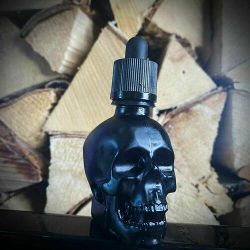 Limited edition skull beard oil