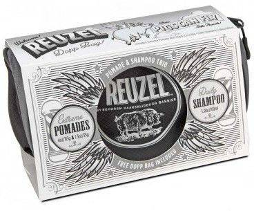 REUZEL Trousse PIGS CAN FLY - EXTREME - Trio Cires Et Shampoing
