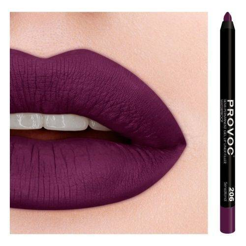 PROVOC Gel Lip Liner 206 Sensational
