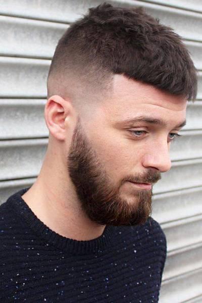 French crop  hair cut