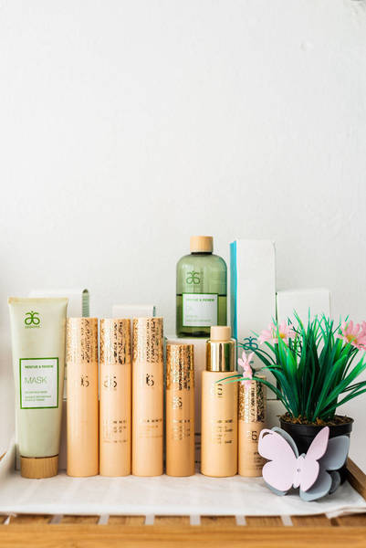 Arbonne Products for facials
